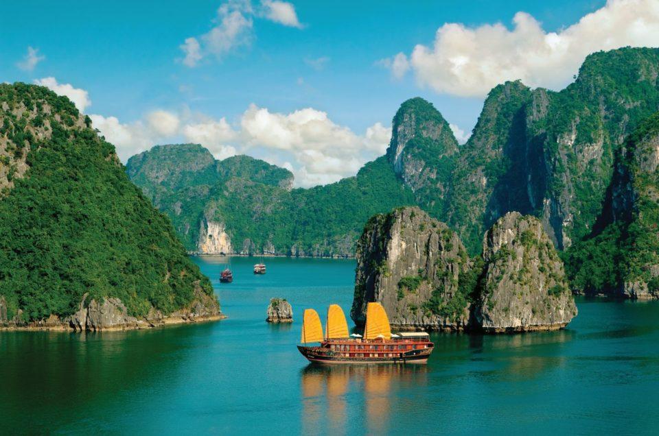 Muhteşem Adalar Halong Bay