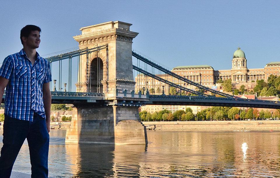 Budapeşte 'de Balayı Tatili