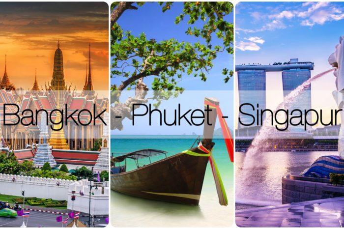 Bangkok & Phuket & Singapur Turu
